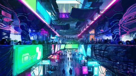 Underground Black Market by SamTheConceptArtist