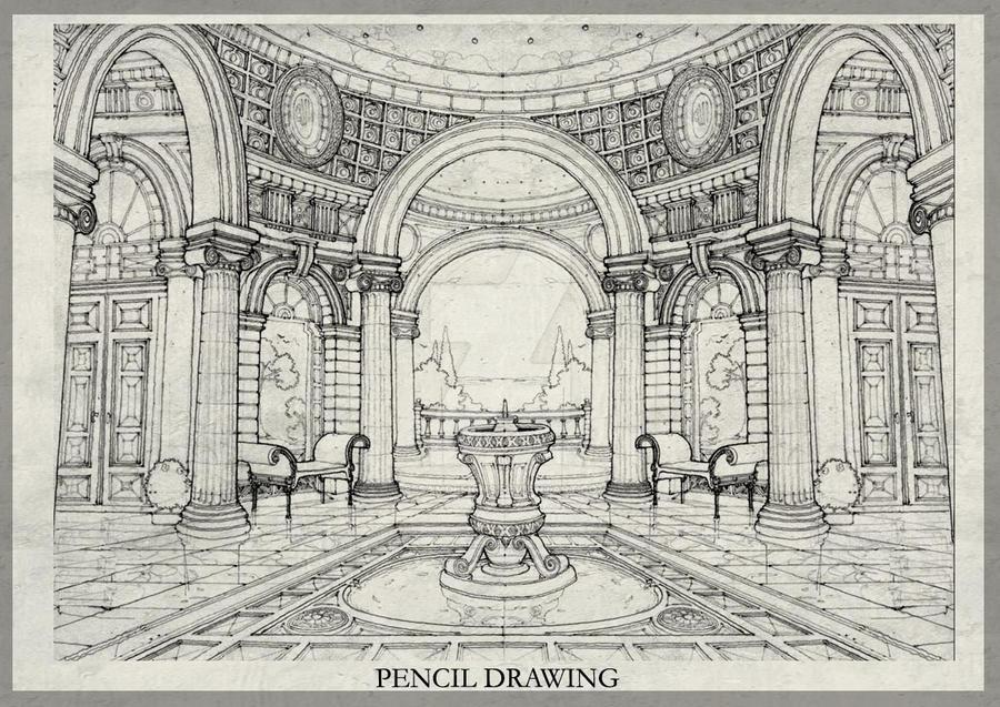 Roman classic interior by essamdesigns on deviantart for Roman interior designs
