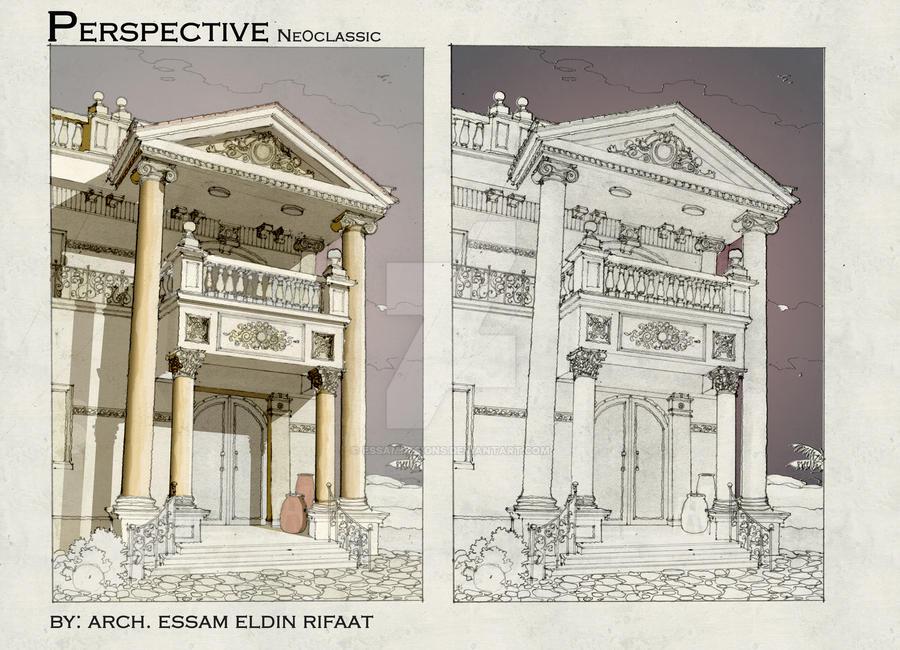 neoclassic sketch by essamdesigns