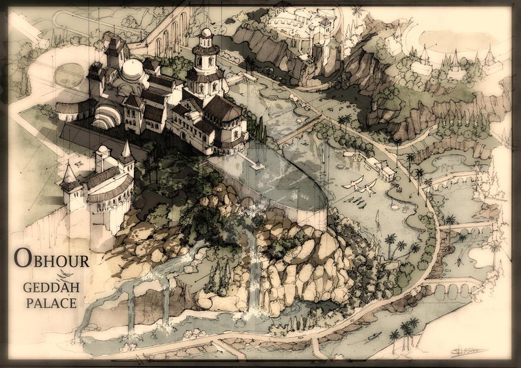 OBHOUR GEDDAH PALACE by essamdesigns