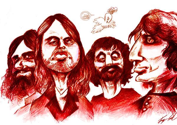 Pink Floyd by Tarthiev