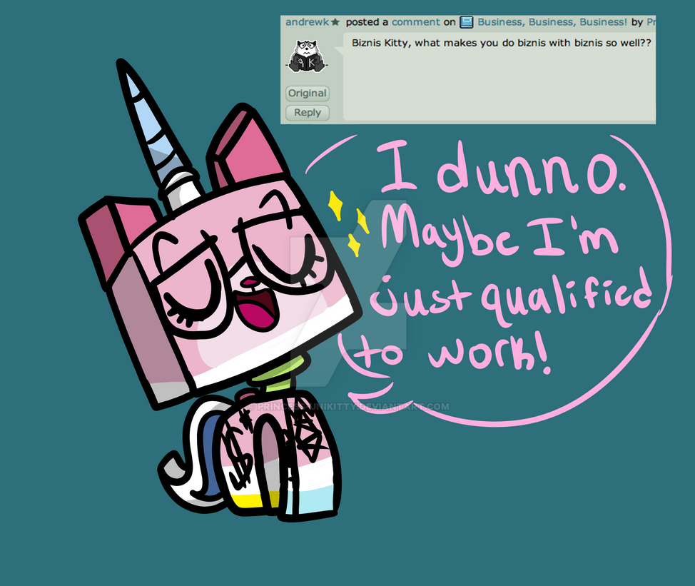 Unikitty Business Q and A #19 by Princes...