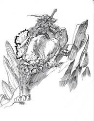 Tiger mount by Gilgemesh