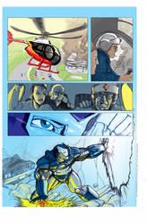 Ironman comic page 3 by Gilgemesh
