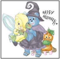Gummi Bears:Happy HalloweenCOL by RedPanda-chan