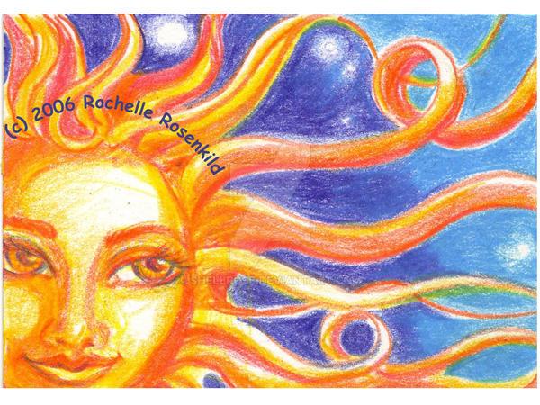 Sun Goddess by shellrose