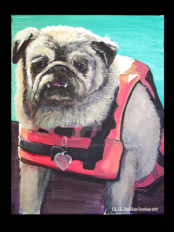 pug ahoy by shellrose