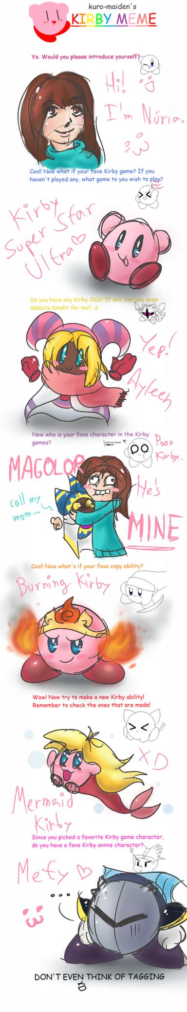 Kirby meme by Nuzita