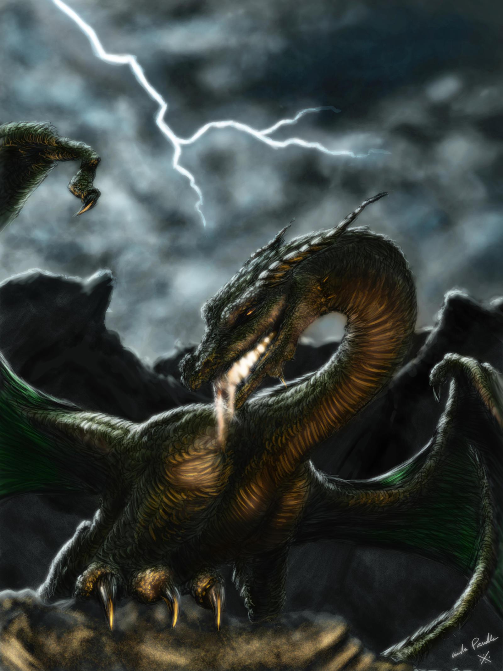 Epic Dragon v2 by MirandaPavelle
