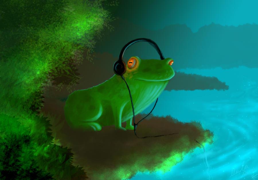 Dubfrog by MirandaPavelle