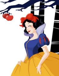 Snow White Fan art by GenevieveFT