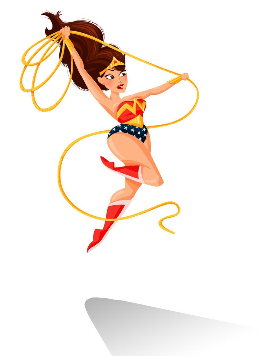 Wonder Woman by GenevieveFT