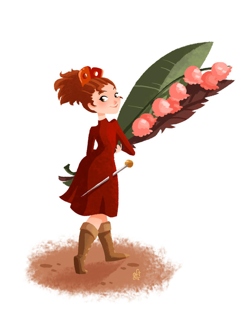 Arrietty by GenevieveFT