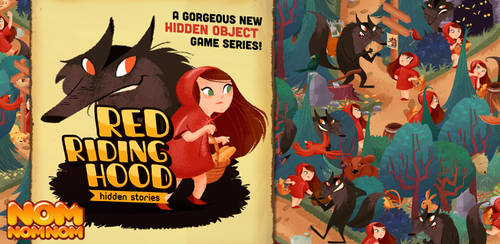 Red Riding Hood - Hidden Stories by GenevieveFT