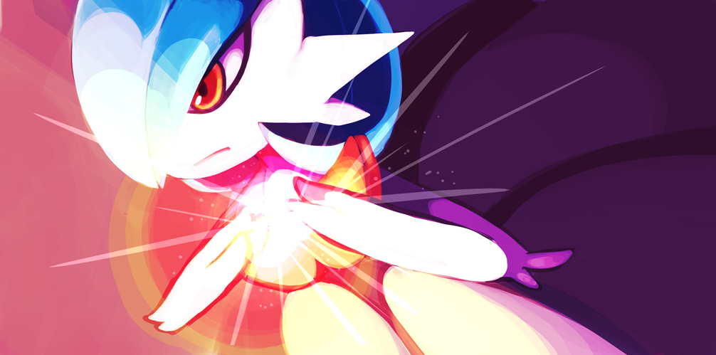 Shiny Mega Gardevoir Wallpaper: Moon Blast By ALacroixx On DeviantArt
