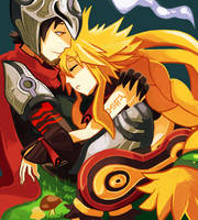 The Witch and the Hundred Knight by ALacroixx