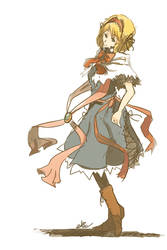 Alice Doodle by ALacroixx