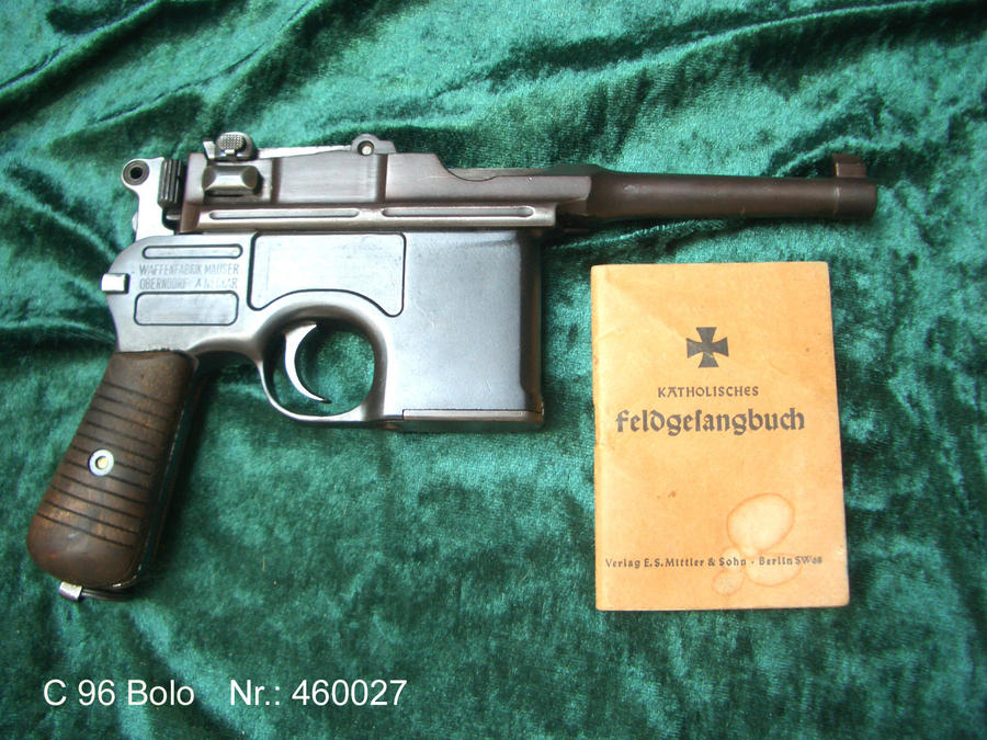mauser pistol by companyHOLLAND