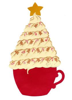 Hot Chocolate Christmas Tree