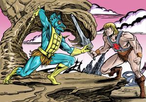 He-Man Vs Mer-Man Fan art