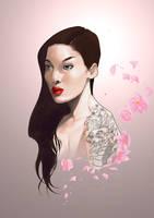 modern day Geisha by BrandonArseneault