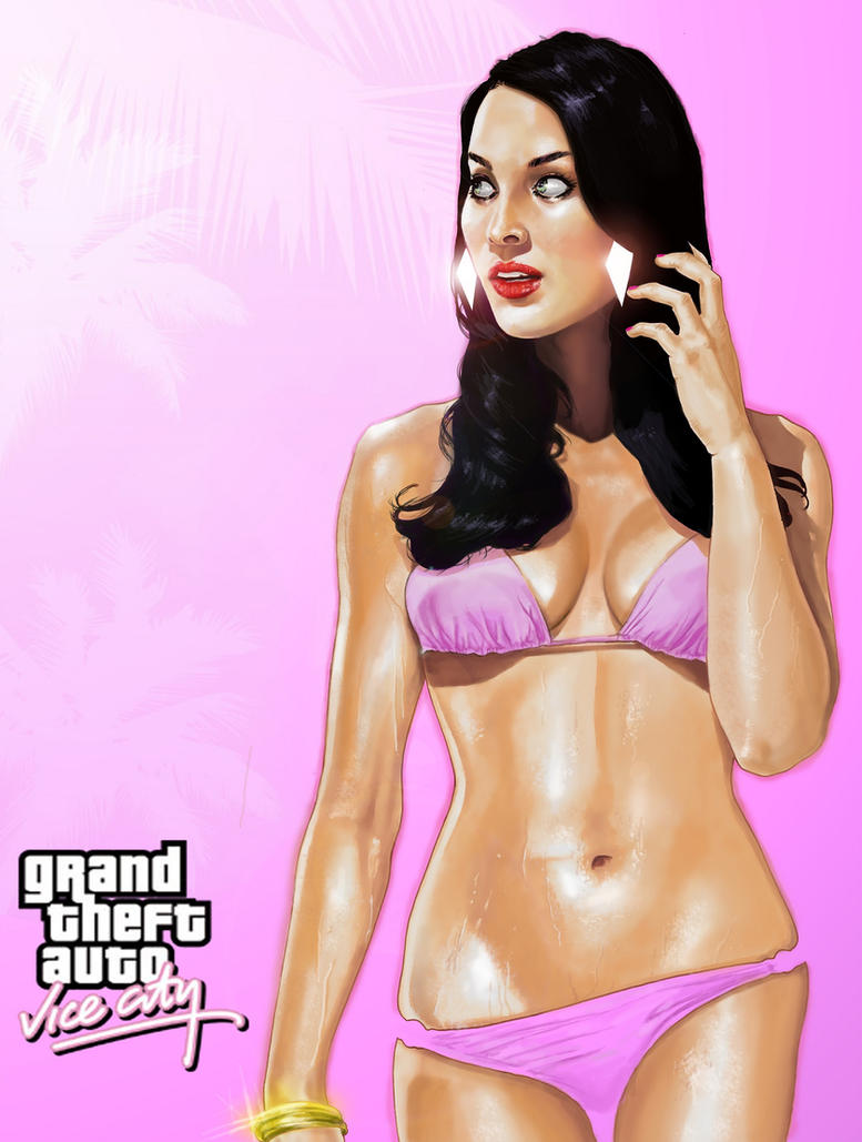GTA Vice City Poster1 by BrandonArseneault