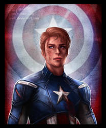 Captain America by jasric