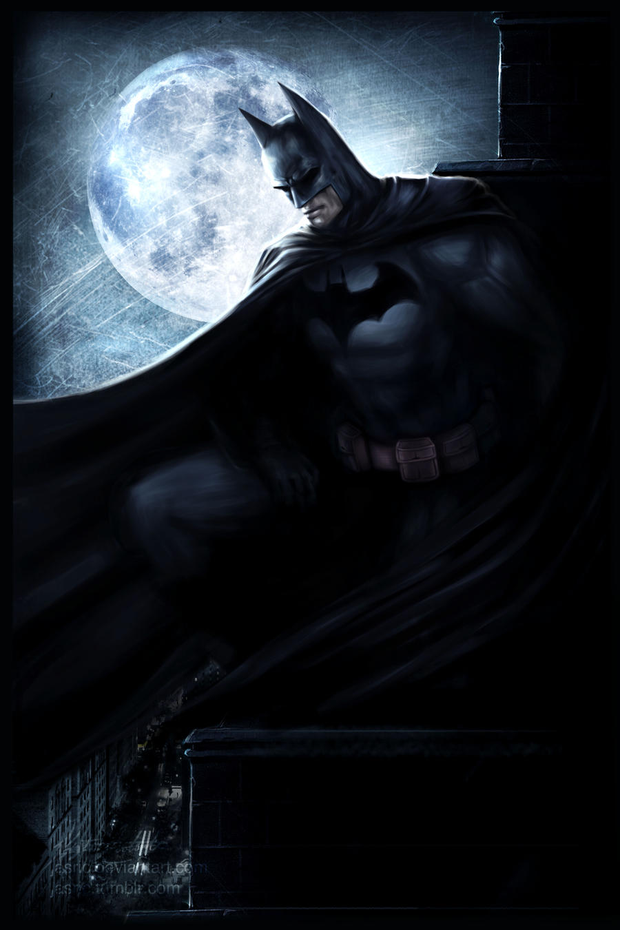 Batman by jasric