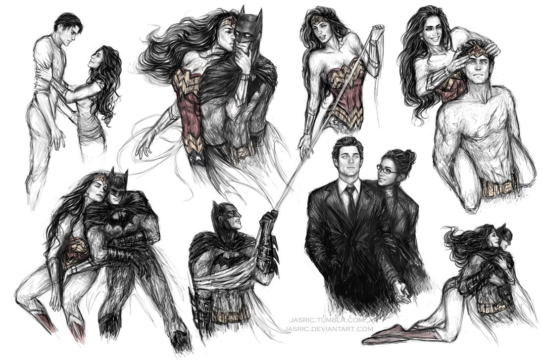 batman and diana relationship
