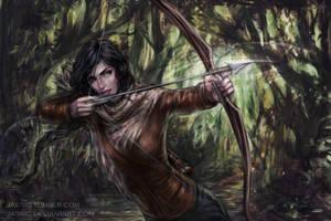Katniss by jasric
