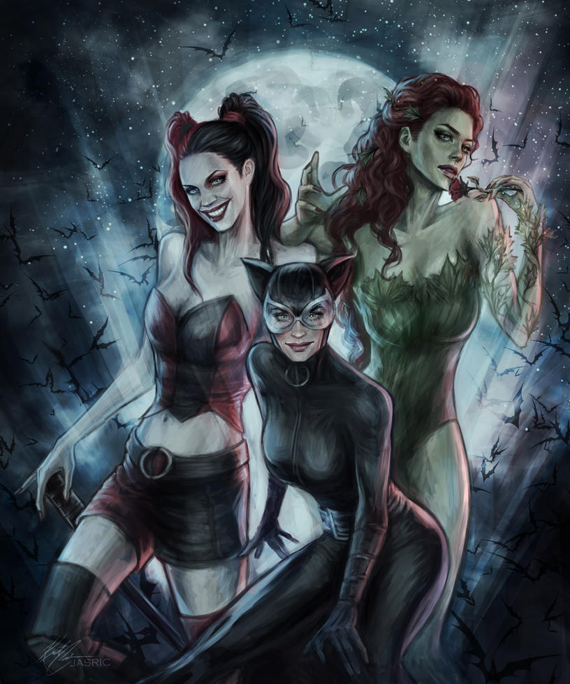 Gotham City Sirens by jasric
