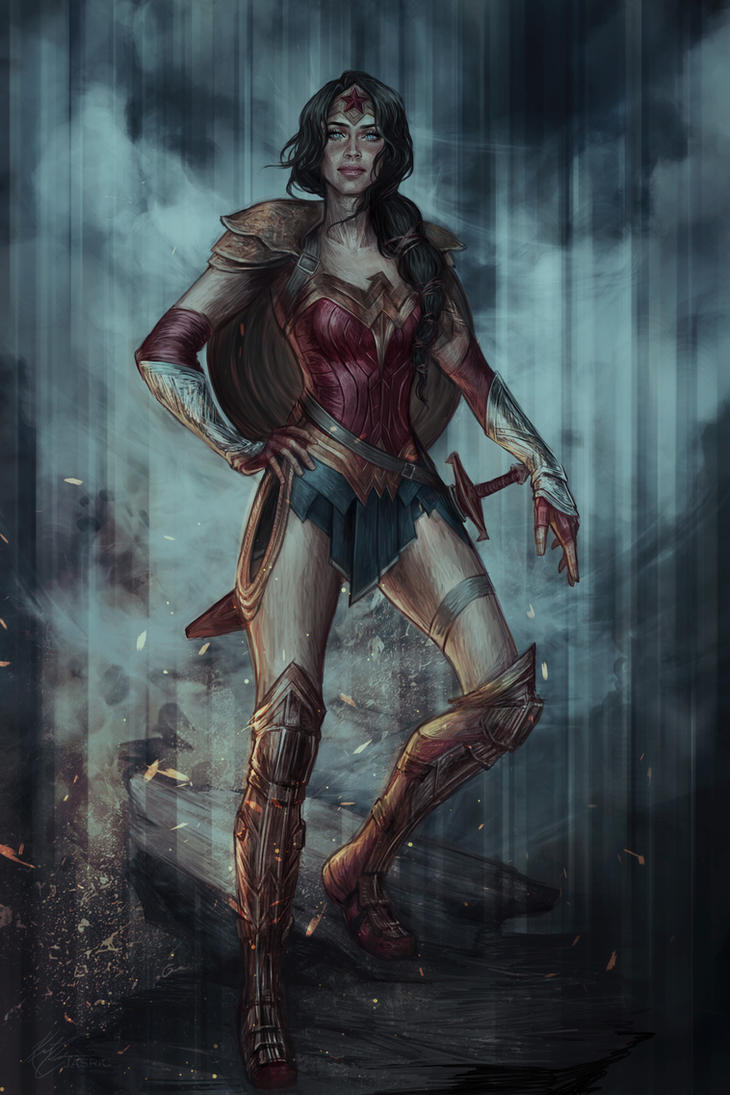 Diana of Themyscira by jasric