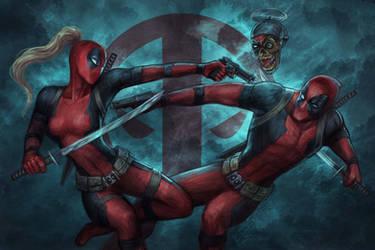 Deadpools by jasric