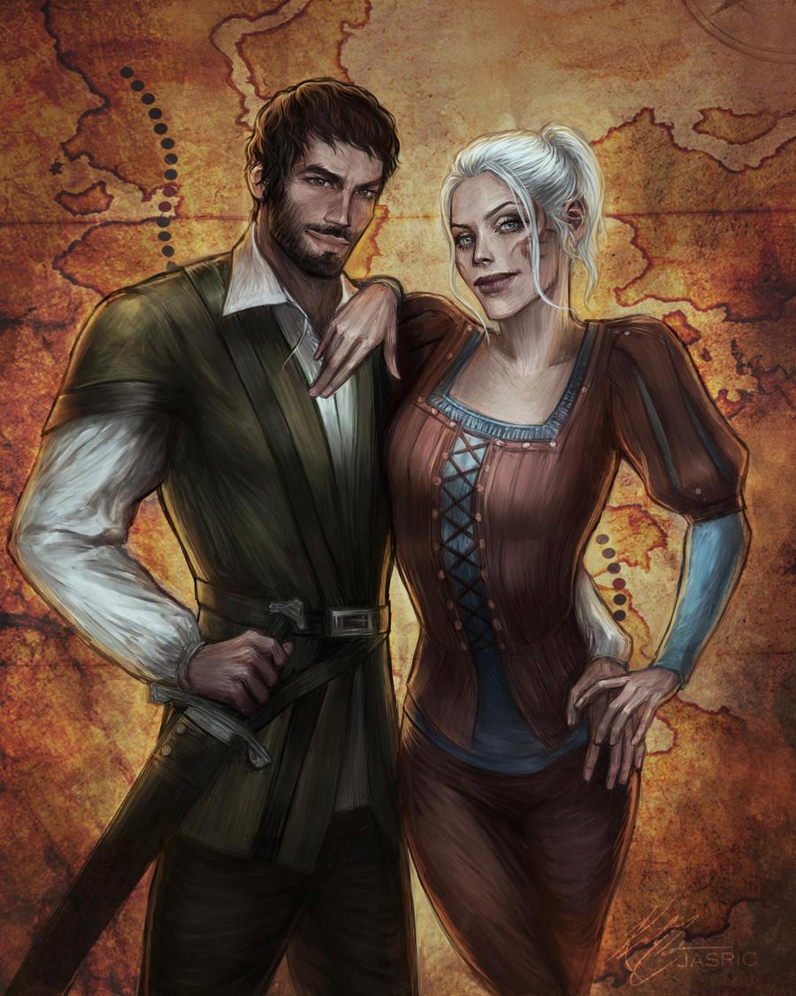Garrett and Kaja by jasric