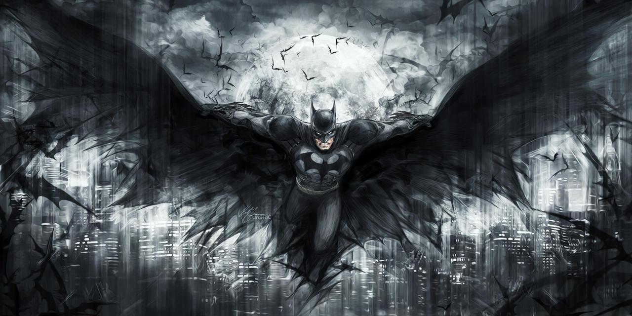 The Dark Knight by jasric
