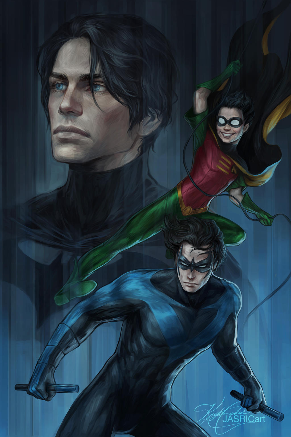 Nightwing by jasric