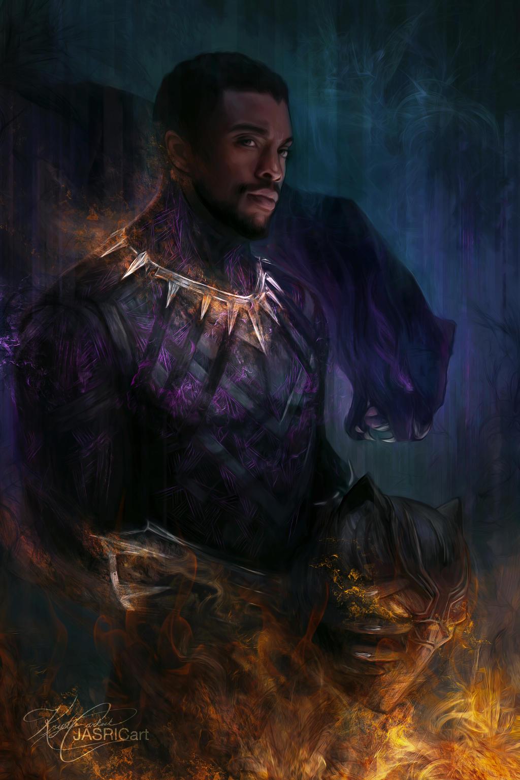 Black Panther By Jasric On Deviantart