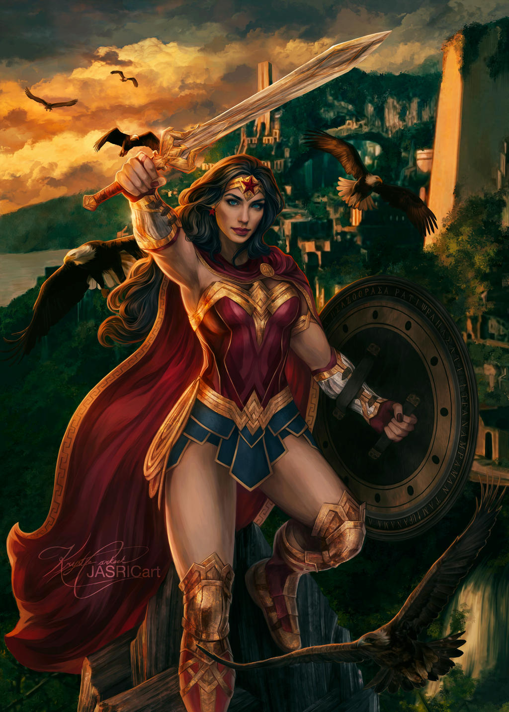 Wonder Woman by jasric