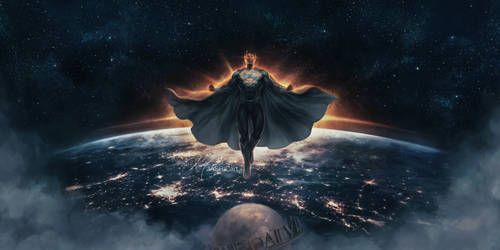 JL - Superman (Black Suit) by jasric