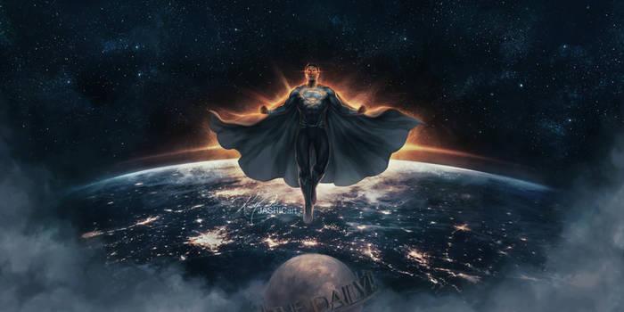 JL - Superman (Black Suit)