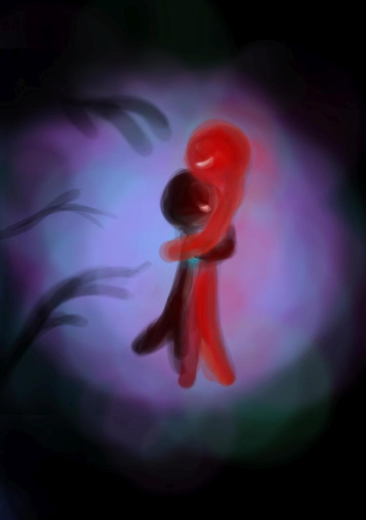 Le rouge et le noir by andragogie on deviantart - Fauteuil rouge et noir ...