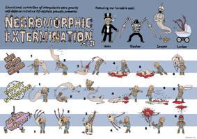 Dead Space necromorph kills x3