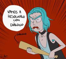 Rick y su dialogo