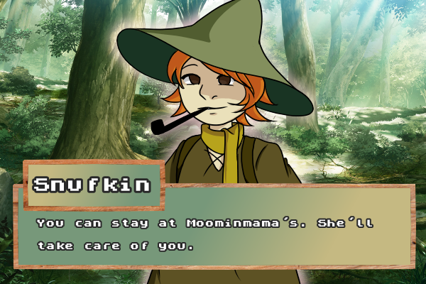 Dating Sim w Snufkin