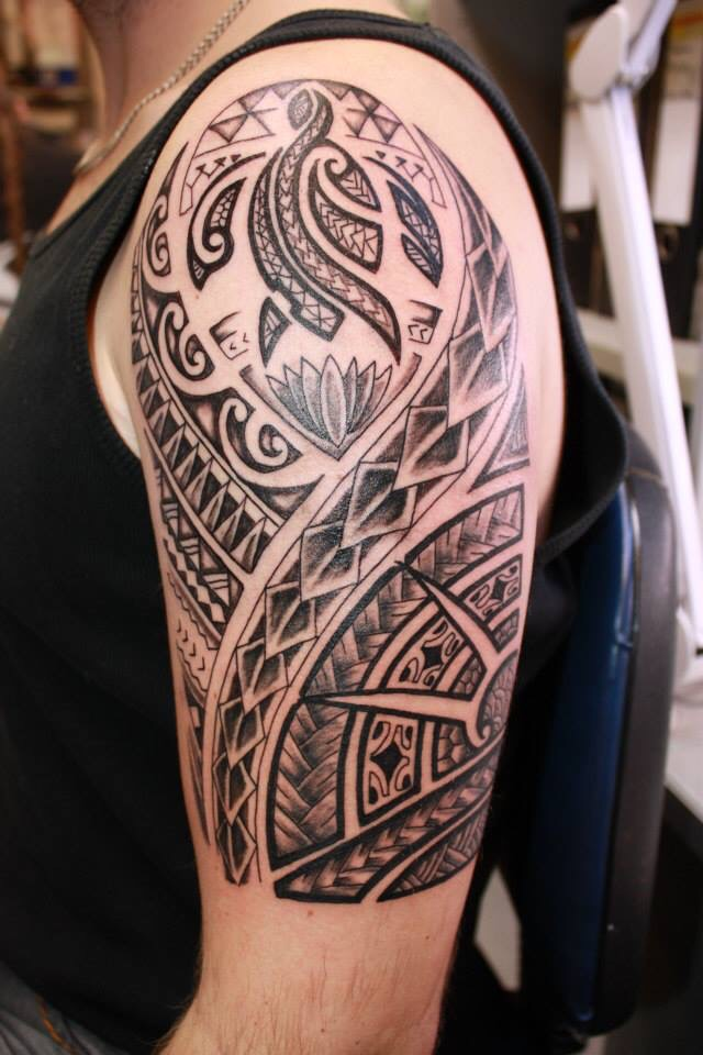 tattoo Maori Arm by fortuna15 on DeviantArt