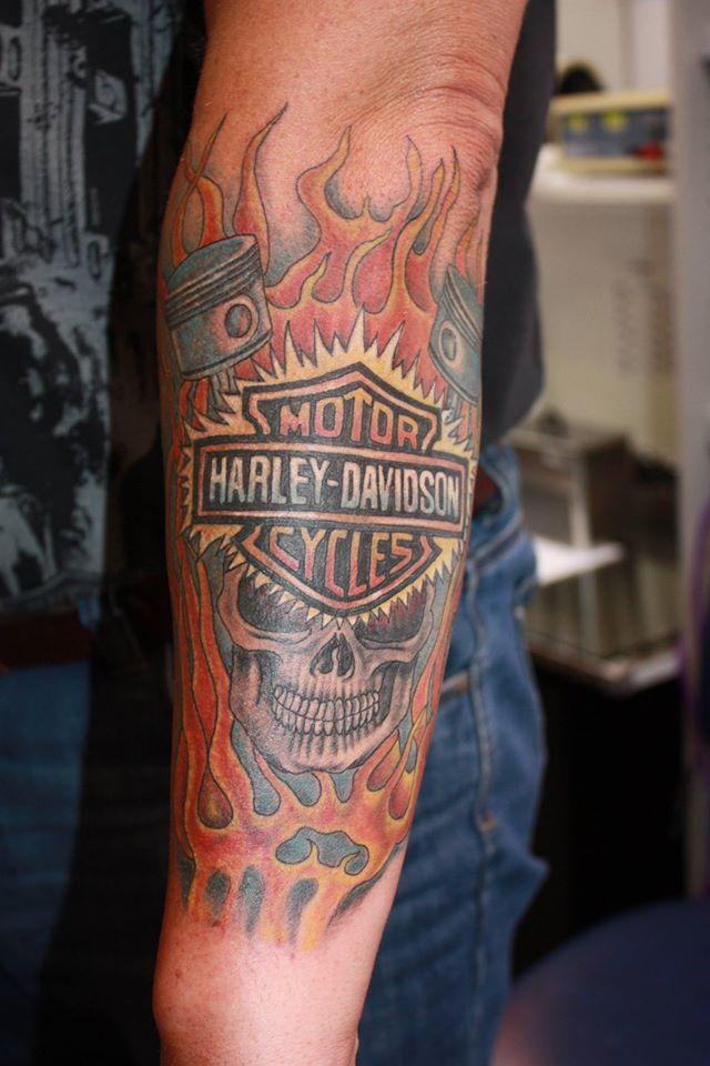 Tattoo Harley Davidson By Fortuna15 On DeviantArt