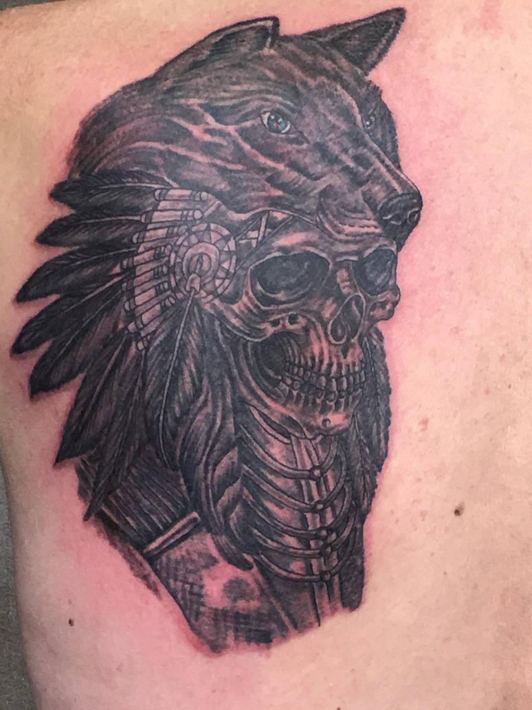 8024383ed tattoo #wolf by fortuna15 on DeviantArt