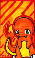 Charmander card by Peeka13