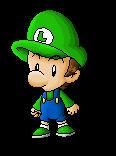 Baby Luigi by Peeka13
