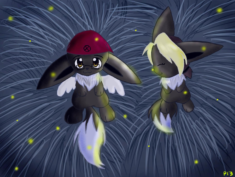 Fireflies by Peeka13